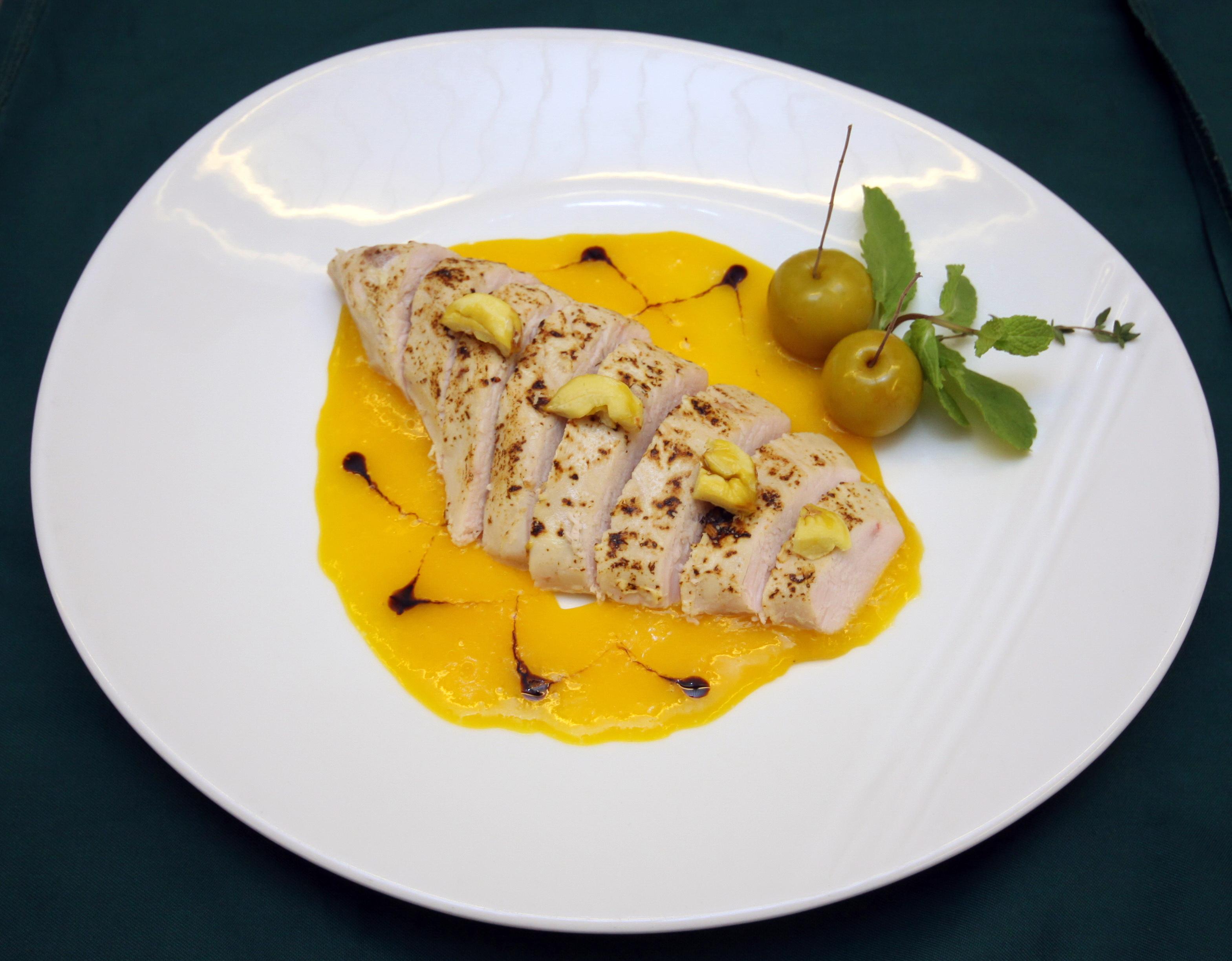 Филе индейки в апельсиновом соусе рецепт
